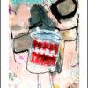Kunstplakat på stikkerne